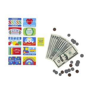 Melissa & Doug Pretend-to-Spend Play Wallet