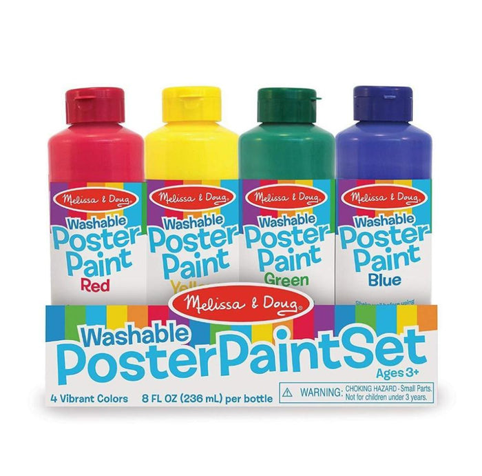 Melissa & Doug Poster Paint Set of 4