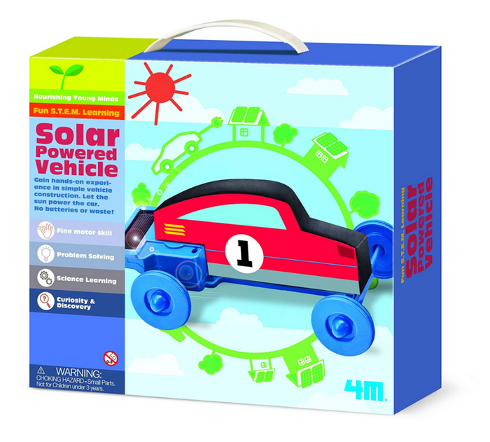 4M Solar Powered Vehicle Kit
