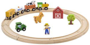 VIGA Smart Thinking - Train Set (19 PCE)
