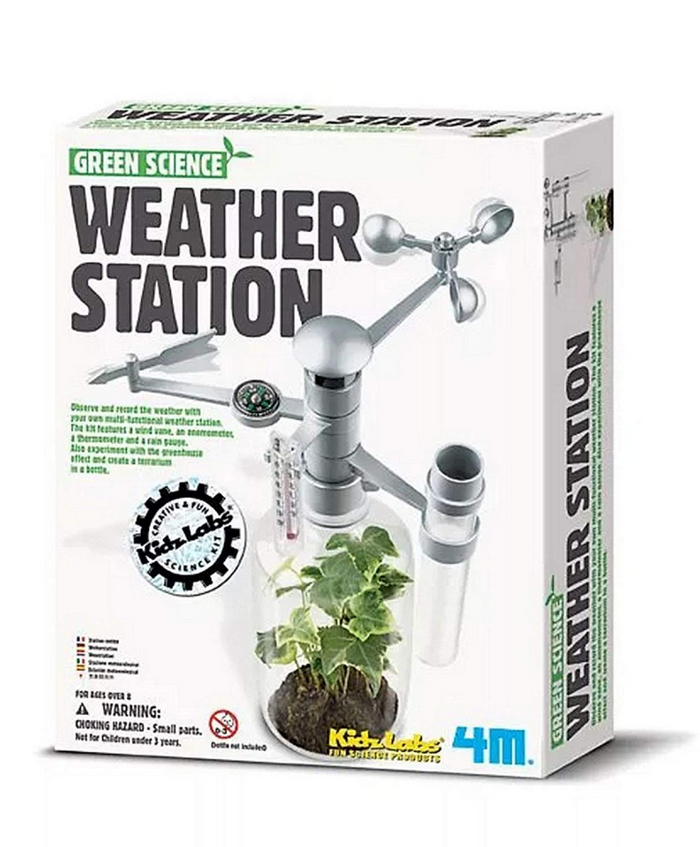 4M Kidzlabs Green Science Weather Station Kit