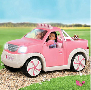 Lori 6 inch Doll Pick Up Truck