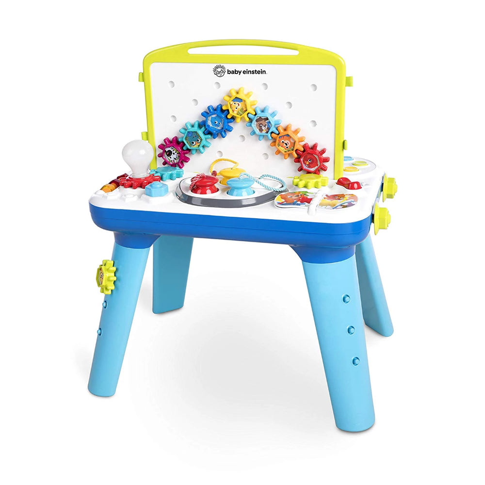 Baby Einstein Curiosity Table Activity Station with Lights and Melodies