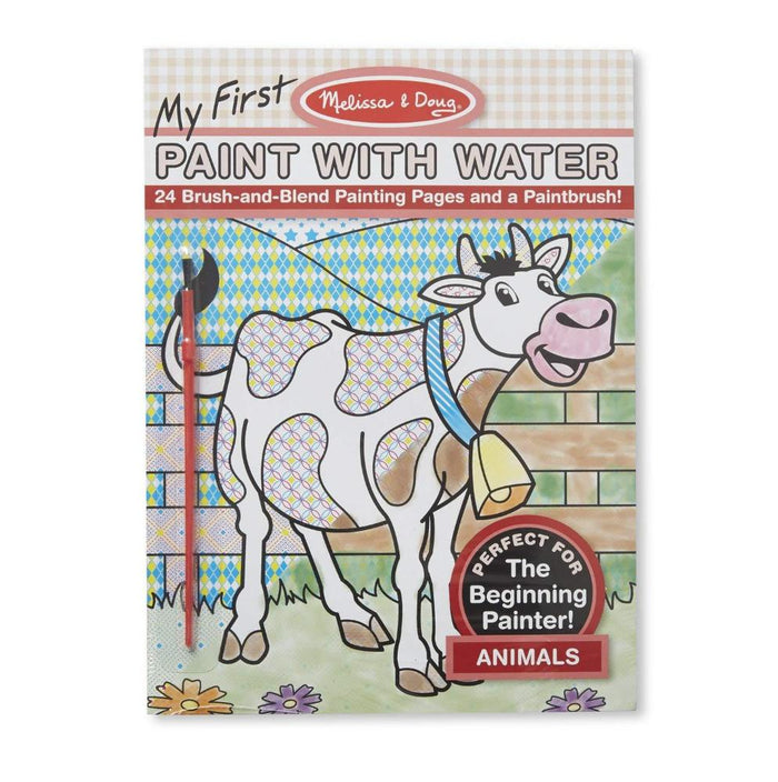 Melissa & Doug My First Paint With Water Coloring Book Animals