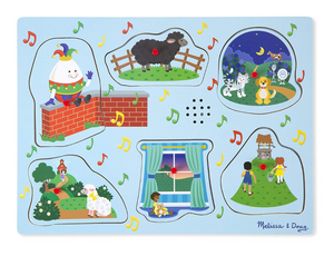 Melissa & Doug Nursery Rhymes 2 Sound Puzzle