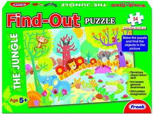 Frank Find-Out Jigsaw Puzzle (54pc) The Jungle