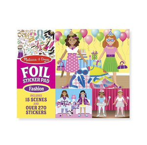 Melissa & Doug Fabulous Foil Sticker Pad-Fashion
