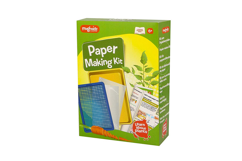 Magnoidz Paper Making Science Kit