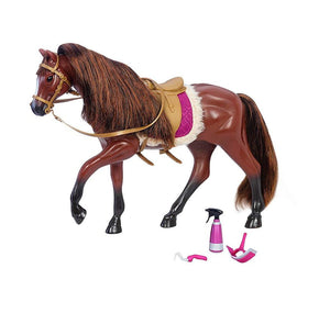 Lori Doll American Quarter Horse Dark Brown