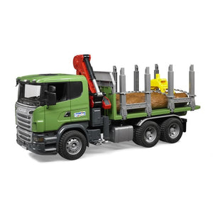 Bruder SCANIA R-Series Timber Truck With Loading