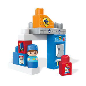 Mega Bloks First Builders Playset - Storytelling Police Station