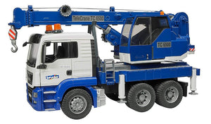 Bruder Man TGS Toy Crane Truck With Light & Sound Module