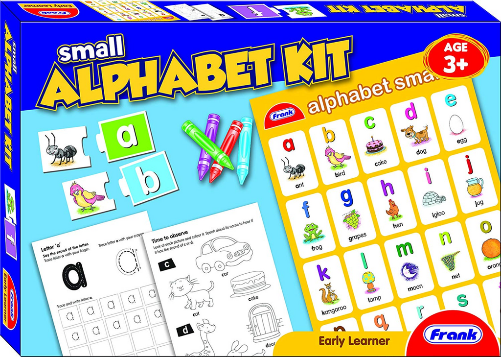 Frank Small Alphabet Activity Kit