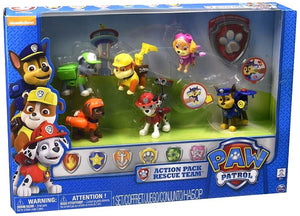 Paw Patrol Action Pack Pups 6pk