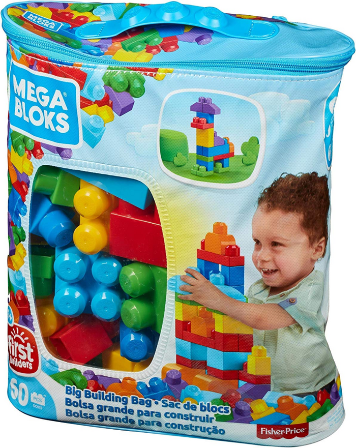 Mega Bloks Big Building Bag (60 PCE)