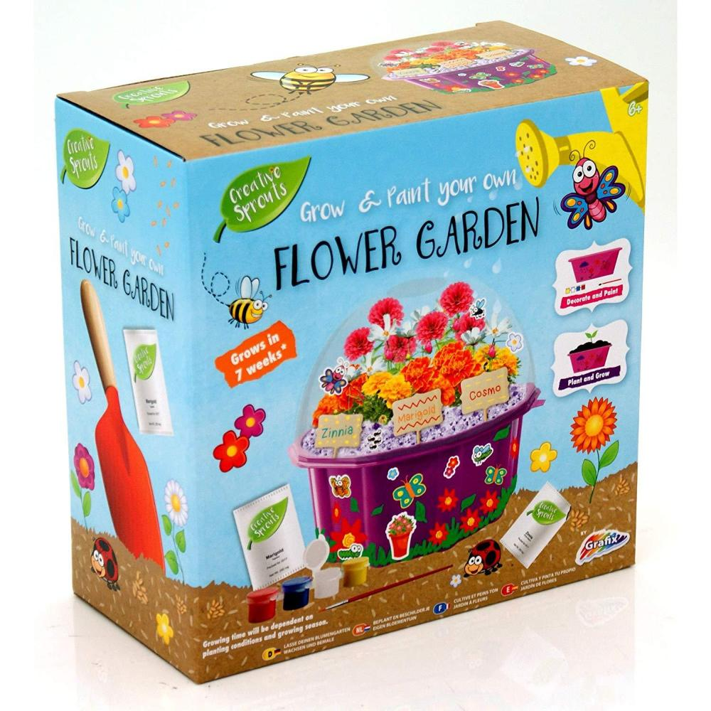 Grafix Creative Sprouts Grow & Paint Your Own Flower Garden