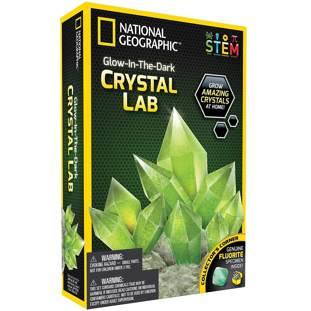 National Geographic Glow-In-The-Dark Crystal Lab