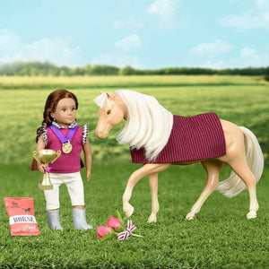 Lori Saddle Up Horse Accessories Set