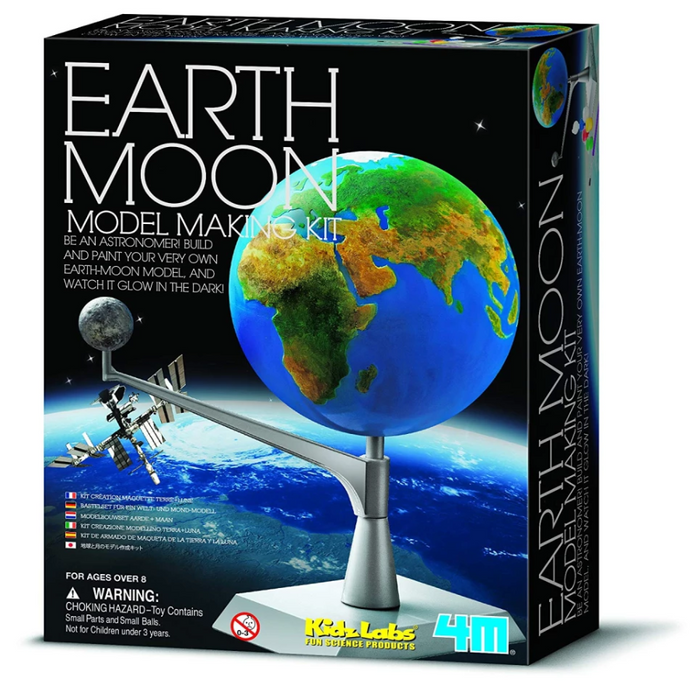 4M KidzLabs Earth-Moon Model Making Kit