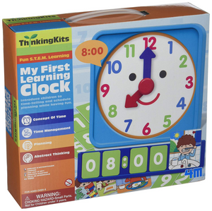 4M My First Learning Clock