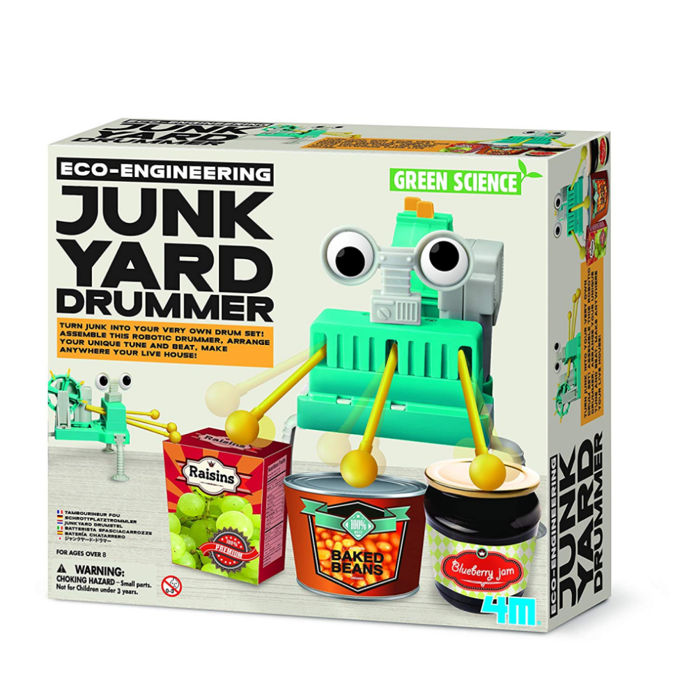 4M Green Science Junkyard Drummer Set