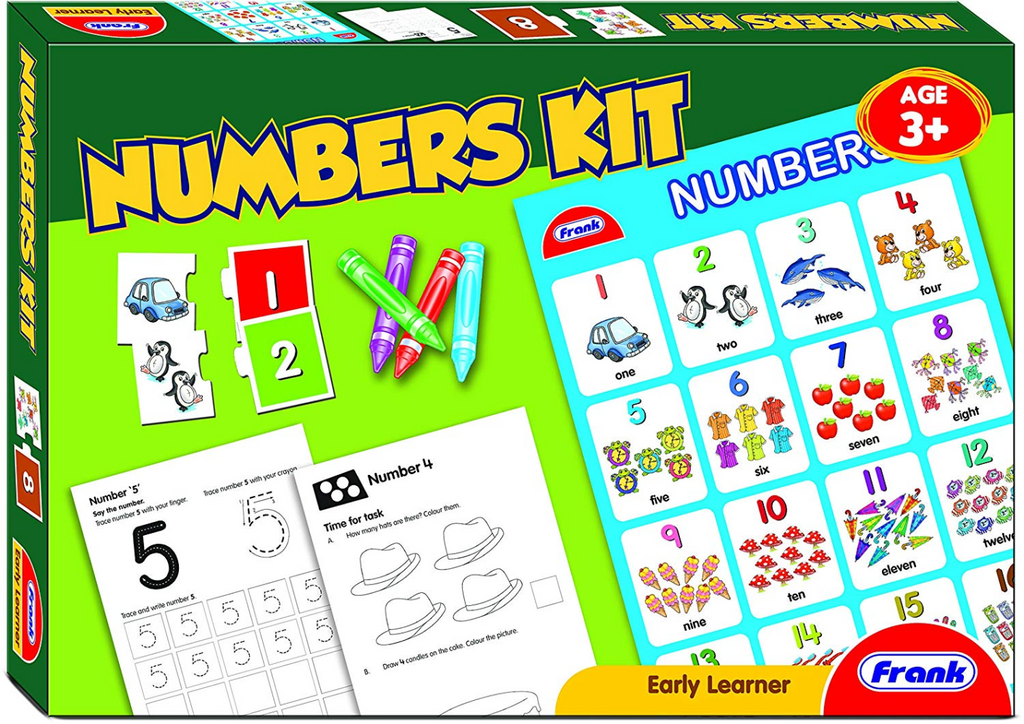 Frank Numbers Activity Kit