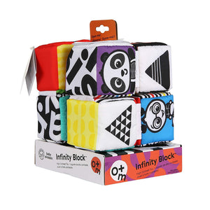 Baby Einstein - Infinity Blocks High Contrast Toy