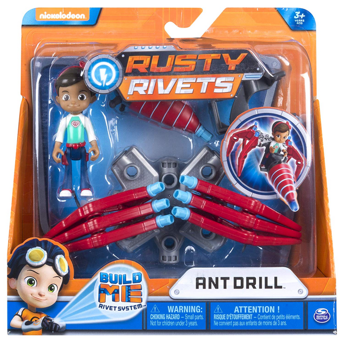 "Rusty Rivets Core Build Packs - ""Ant Drill"""