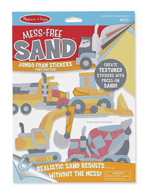 Melissa & Doug Mess-Free Sand Stickers - Construction