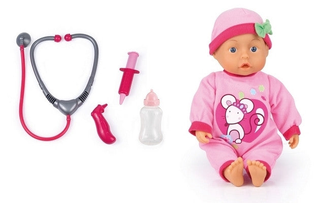 Bayer Doctor Doll Set 33cm
