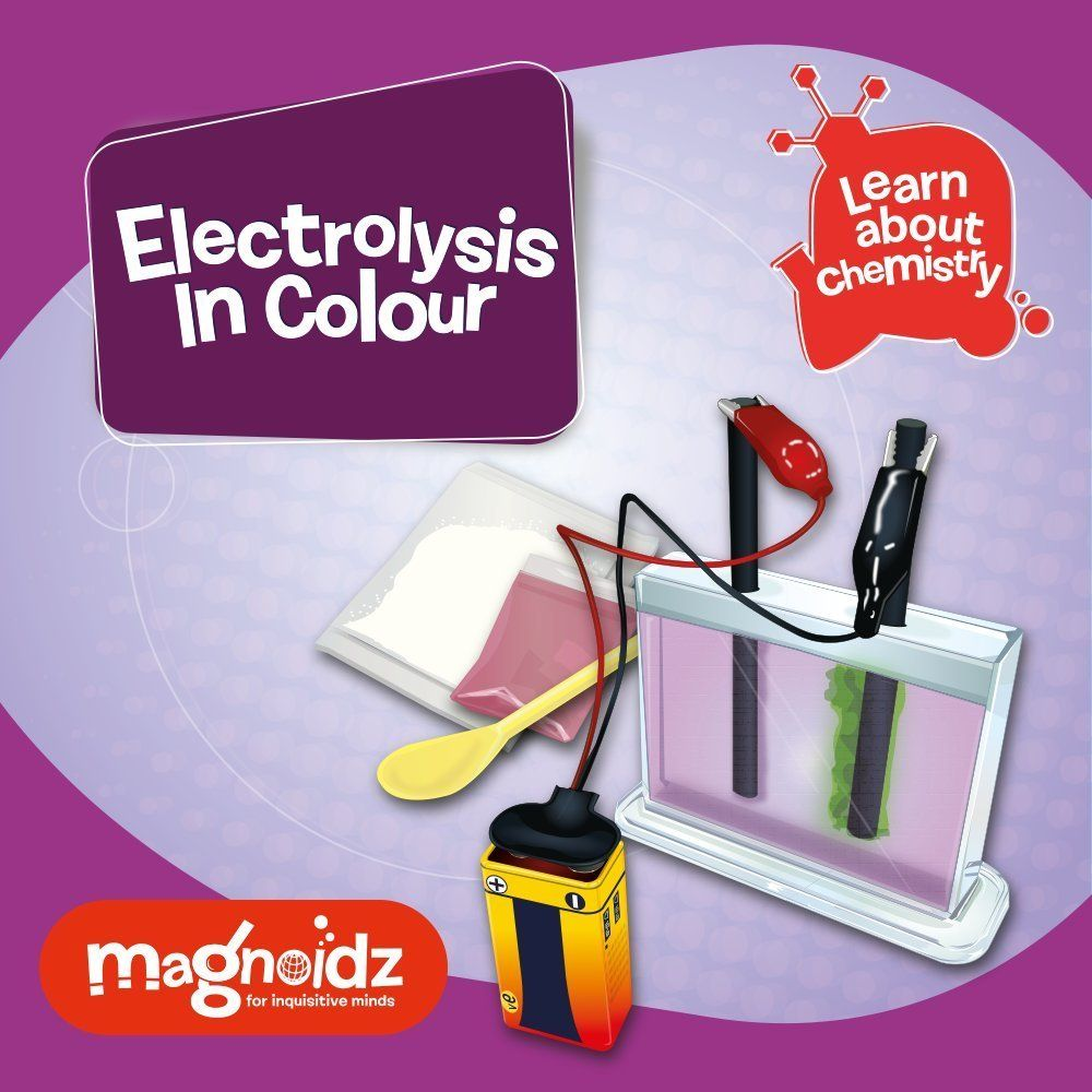 Magnoidz Electrolysis in Colour Science Kit.
