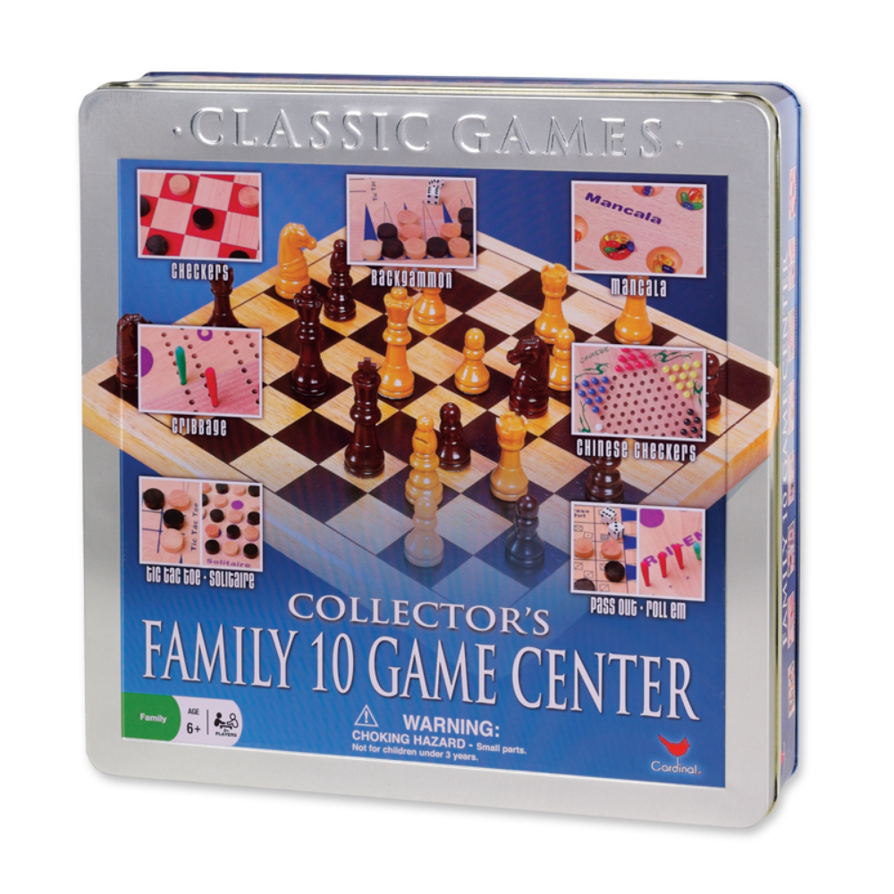 Cardinals Collectors Family 10 Game Center