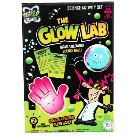 Weird Science The Glow Lab Set