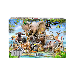RGS Group Adult Puzzle - Africa Selfie 1000 Piece