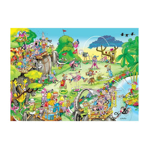 Adult Puzzle - Golf Safari 1500 Pieces
