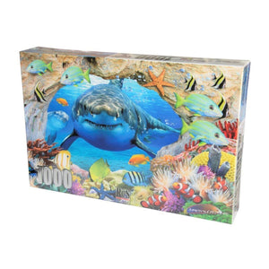Adult Puzzle - Shark's View 1000 Piece