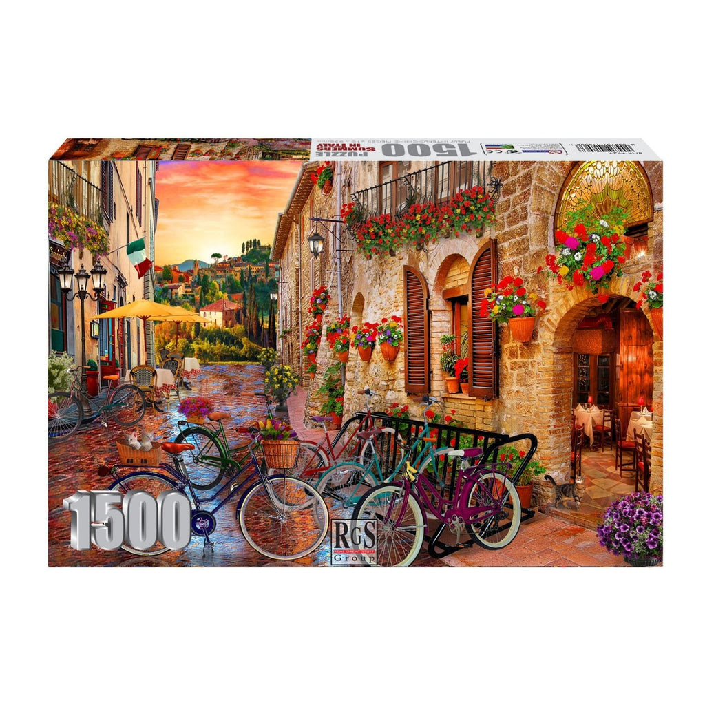 Adult Puzzle - Summers In Italy 1500pcs