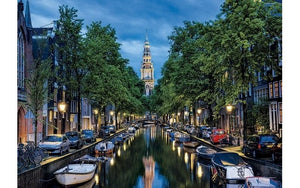 Amsterdam Canal At Dusk (1x1500pc)