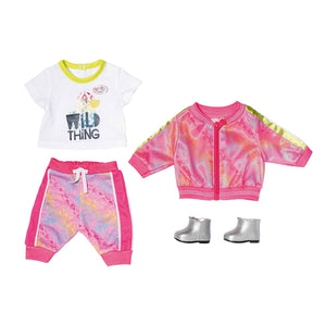 Baby Born Deluxe Trendy Pink Outfit