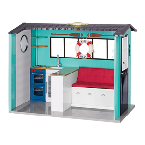 Our Generation Deluxe Seaside Beach House Playset