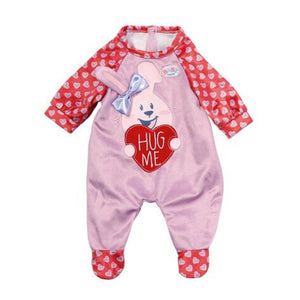 Baby Born Romper Collection Pink