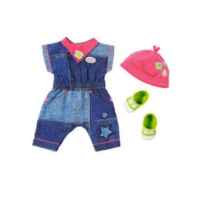 Baby Born Deluxe Jeans Collection Jumpsuit