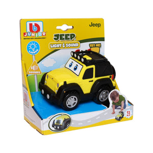 Bburago Junior Light & Sound Jeep Wrangler