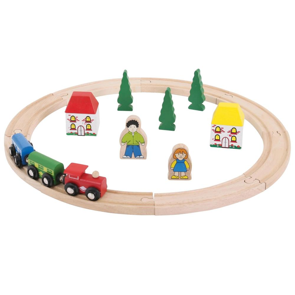 Bigjigs Rail – My First Train Set (20 pieces)
