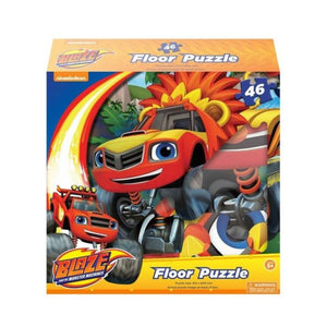 Blaze and the Monster Machines Floor Puzzle