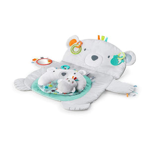 Bright Starts Taggies Tummy Time Prop & Play Polar Bear