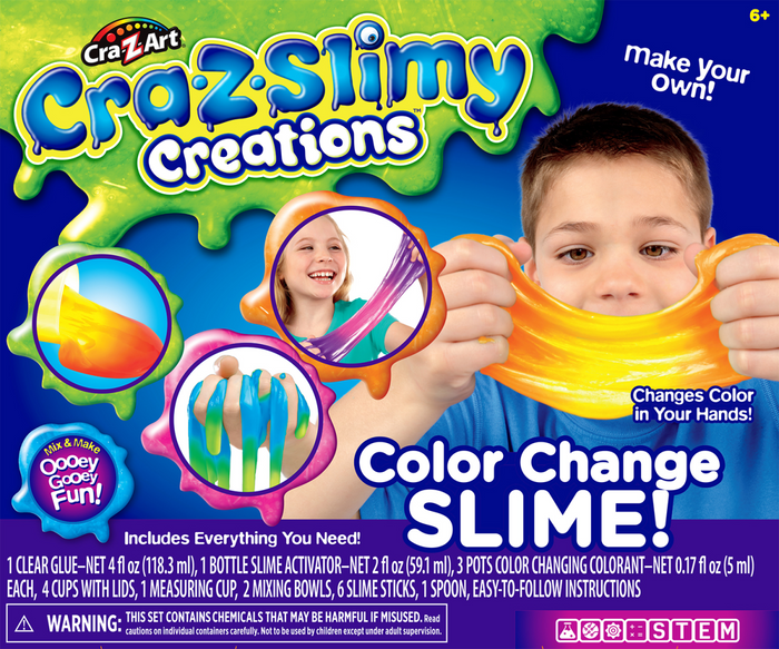 CRA-Z-SLIMY Creations Colour Changing Slime