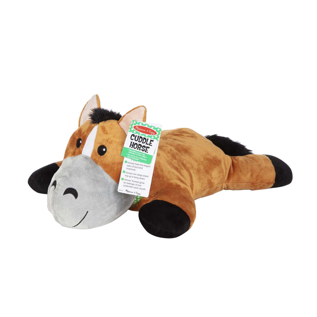 Melissa & Doug Cuddle Horse Jumbo Plush Stuffed Animal