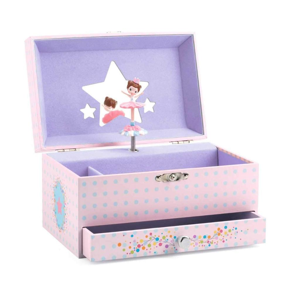 Djeco Wooden Musical Box The Ballerinas Tune