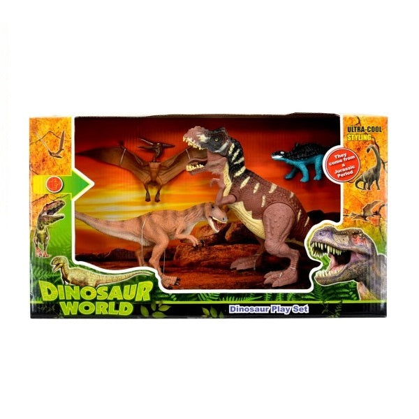 Dinosaur World 4 Piece